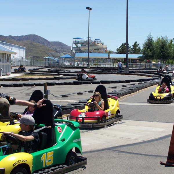 Go Karts at Youth Baseball Nationals Reno Tournament