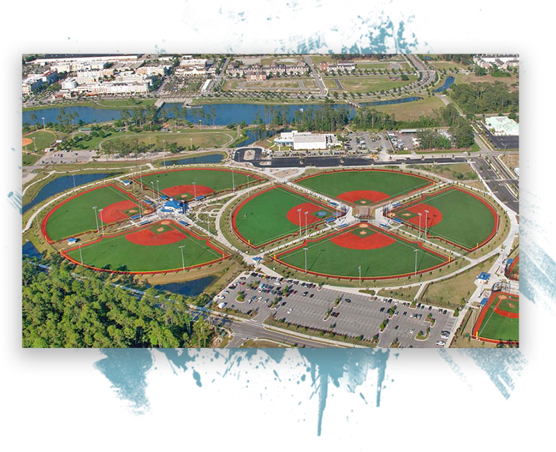 Grand Park At Market Common The Youth Baseball Nationals Myrtle Beach Tournament Logo