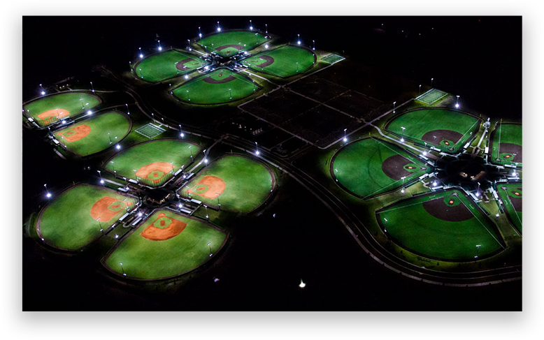 Boombah Sports Complex at Youth Baseball Nationals Florida Tournament